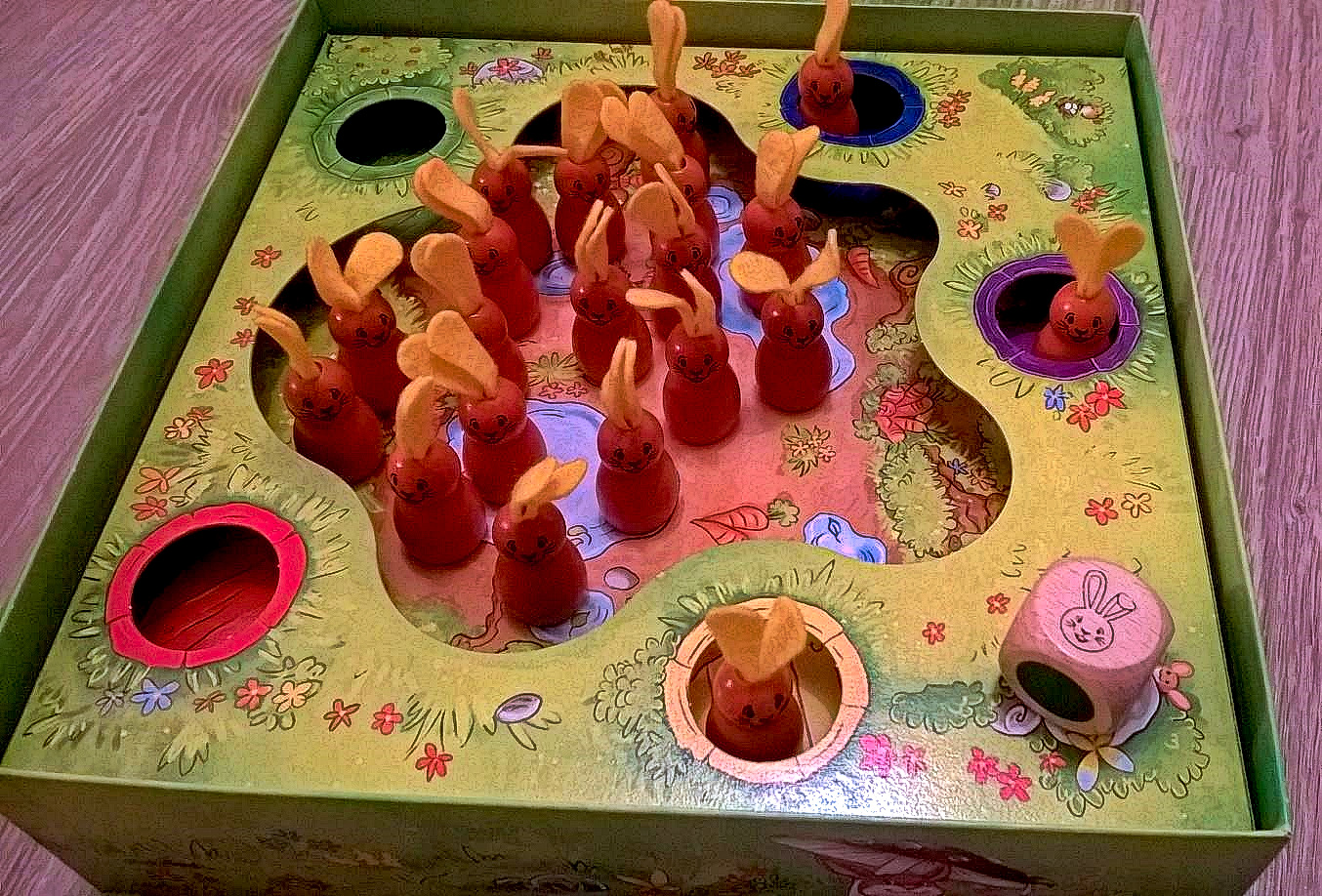 uratuj króliczki gry planszowe dla dzieci